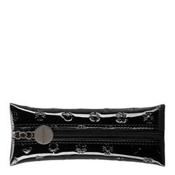 Schlüsseletui aus Lackleder mit Monogramm, schwarz, 34-2-135-1S, Bild 1