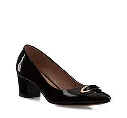 Schuhe, schwarz, 85-D-201-1-38, Bild 1
