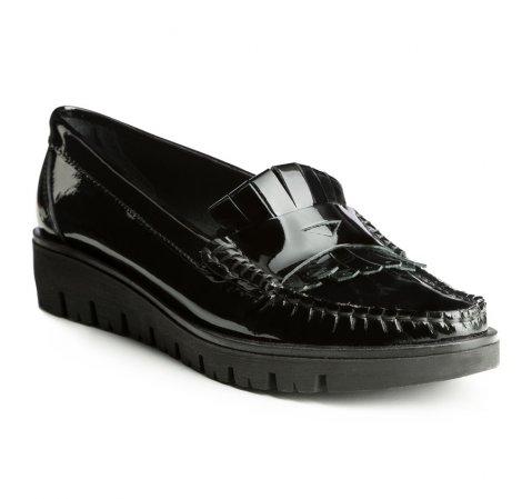 Schuhe, schwarz, 85-D-352-1-35, Bild 1