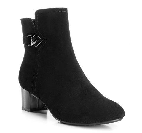Schuhe, schwarz, 85-D-507-1-41, Bild 1