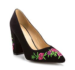 Schuhe, schwarz, 85-D-515-1-37, Bild 1