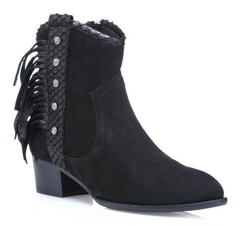 Schuhe, schwarz, 85-D-901-1-37, Bild 1