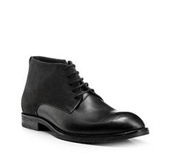 Schuhe, schwarz, 85-M-604-1-44, Bild 1