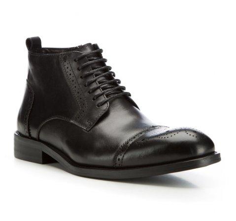 Männer Schuhe, schwarz, 85-M-817-1-40, Bild 1