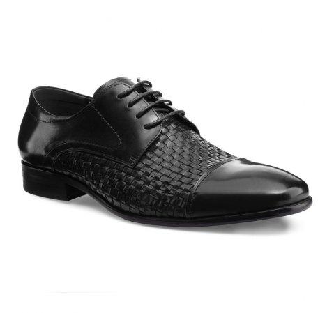 Schuhe, schwarz, 85-M-922-1-45, Bild 1