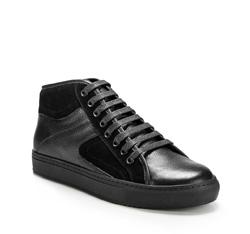Schuhe, schwarz, 85-M-952-1-41, Bild 1