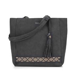 Shopper-Tasche, schwarz, 87-4Y-700-1, Bild 1