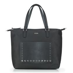 Shopper-Tasche, schwarz, 87-4Y-709-1, Bild 1