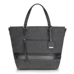 Shopper-Tasche, schwarz, 87-4Y-721-1, Bild 1