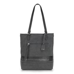 Shopper-Tasche, schwarz, 87-4Y-722-1, Bild 1