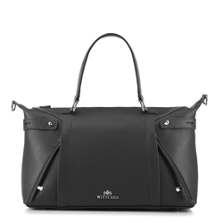Shopper-Tasche, schwarz, 88-4E-301-1, Bild 1