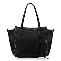 Shopper-Tasche, schwarz, 88-4Y-400-1, Bild 1