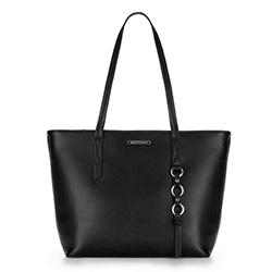 Shopper-Tasche, schwarz, 88-4Y-402-1, Bild 1