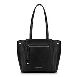Shopper-Tasche, schwarz, 88-4Y-406-1, Bild 1
