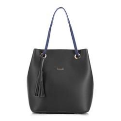 Shopper-Tasche, schwarz, 88-4Y-506-1, Bild 1