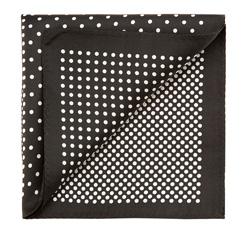 Einstecktuch, schwarz-weiß, 85-7P-X01-X12, Bild 1
