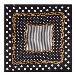 Frauen Halstuch, schwarz-weiß, 86-7D-S14-X02, Bild 1