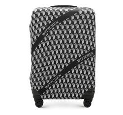 Große Kofferschutzhülle, schwarz-weiß, 56-30-033-00, Bild 1
