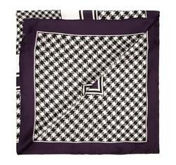 Schal, schwarz-weiß, 85-7D-S31-X1, Bild 1
