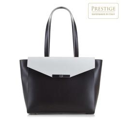 Shopper-Tasche, schwarz-weiß, 88-4E-001-1, Bild 1