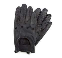 Herrenhandschuhe, schwarzgrau, 46-6-381-FA-V, Bild 1