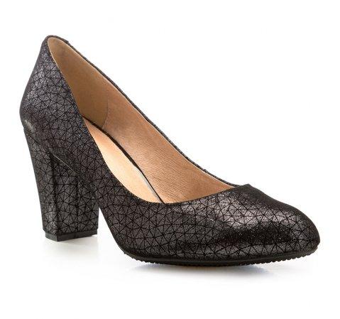 Schuhe, schwarzgrau, 85-D-502-8-35, Bild 1