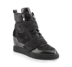 Schuhe, schwarzgrau, 85-D-917-1-39, Bild 1