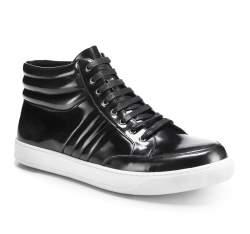 Schuhe, schwarzgrau, 85-M-953-8-39, Bild 1