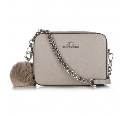 Dámská kabelka, šedá, 29-4E-003-Y, Obrázek 1