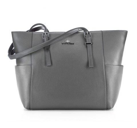 Dámská kabelka, šedá, 85-4E-456-8, Obrázek 1
