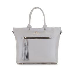 Dámská kabelka, šedá, 86-4E-401-8, Obrázek 1