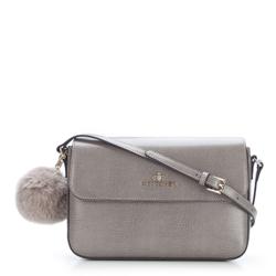 Dámská kabelka, šedá, 87-4-335-8, Obrázek 1