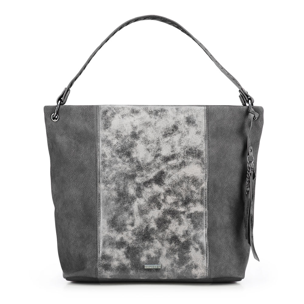 Dámská kabelka, šedá, 87-4Y-719-8, Obrázek 1