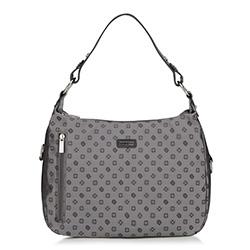 Dámská kabelka, šedá, 88-4E-903-8, Obrázek 1