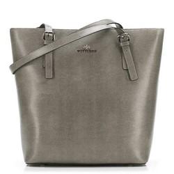 Dámská kabelka, šedá, 89-4-301-8, Obrázek 1