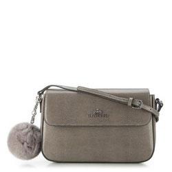 Dámská kabelka, šedá, 89-4-335-8, Obrázek 1