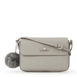 Dámská kabelka, šedá, 89-4-435-8, Obrázek 1
