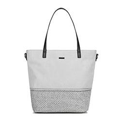 Dámská kabelka, šedá, 89-4Y-756-8, Obrázek 1