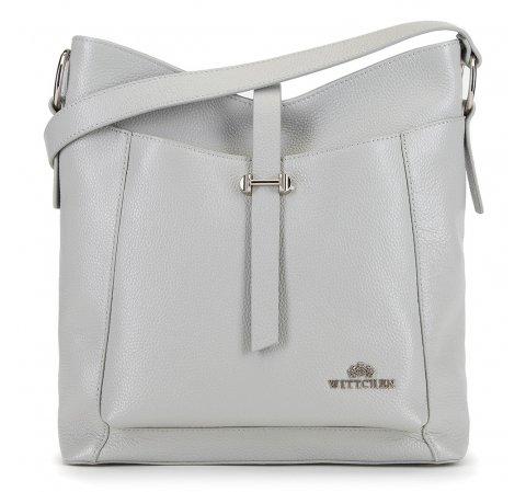 Dámská kabelka, šedá, 90-4E-366-8, Obrázek 1