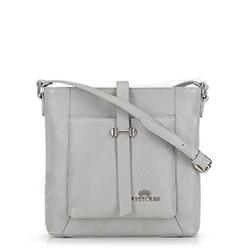 Dámská kabelka, šedá, 90-4E-367-8, Obrázek 1