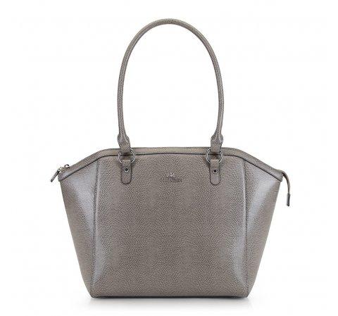 Dámská kabelka, šedá, 90-4E-606-8, Obrázek 1