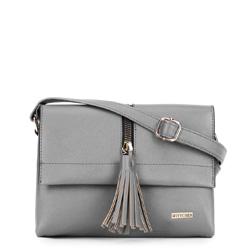 Dámská kabelka, šedá, 90-4Y-759-8, Obrázek 1