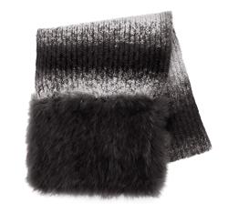 Dámská šála, šedá, 85-7F-001-8, Obrázek 1