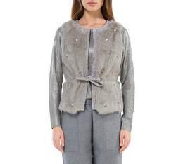 Dámská vesta, šedá, 83-9F-503-8-2X, Obrázek 1