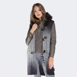 Dámská vesta, šedá, 87-9F-036-8, Obrázek 1