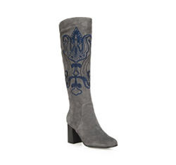 Dámské boty, šedá, 85-D-918-8-36, Obrázek 1