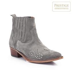 Dámské boty, šedá, 86-D-051-8-38, Obrázek 1