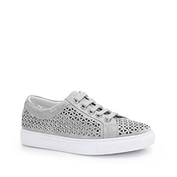 Dámské boty, šedá, 86-D-916-8-38, Obrázek 1
