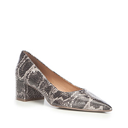 Dámské boty, šedá, 87-D-759-8-35, Obrázek 1