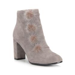 Dámské boty, šedá, 87-D-906-8-38, Obrázek 1